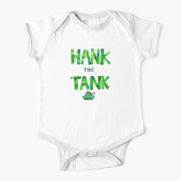 HANK the TANK Baby Onesie