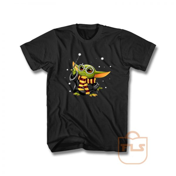 Harry Potter mashup Baby Yoda Star Wars T Shirt