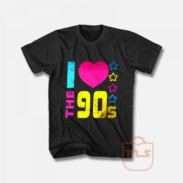 I love the 90s Retro T Shirt