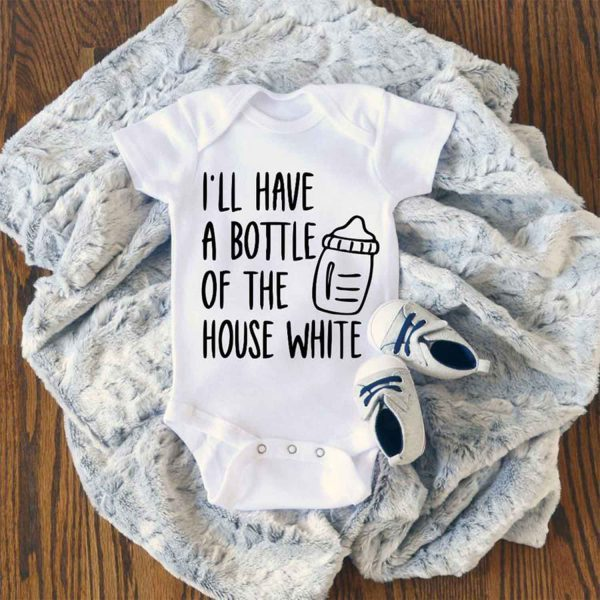 Ill Have A Bottle Of The House Baby Onesie