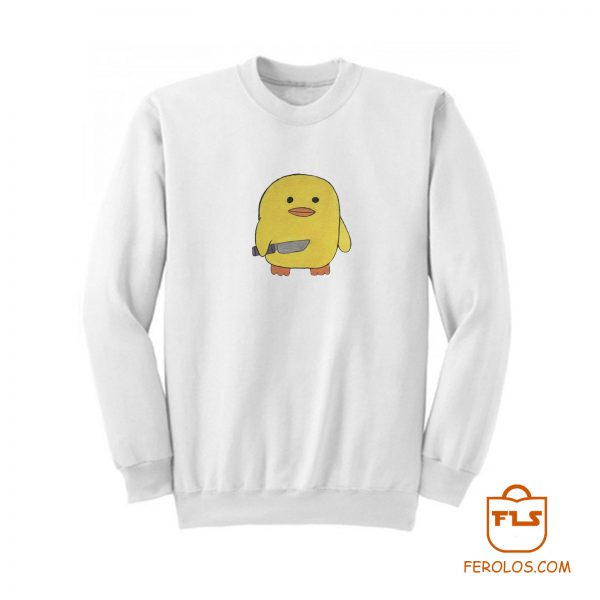Intimidating Duck Sweatshirt