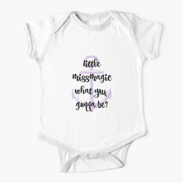 Jimmy Buffett Little Miss Magic Baby Onesie