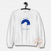 Less Plastic More Oceans Sweatshirt