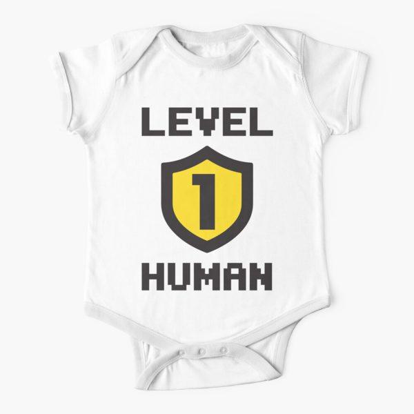 Level 1 Human Baby Onesie