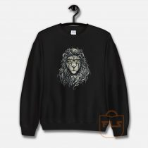 Lion Eye Glass Sweatshirt