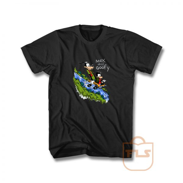 Max and Goofy T Shirt