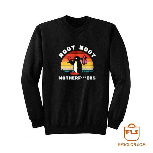 Noot Penguin Motherfuckers Sweatshirt
