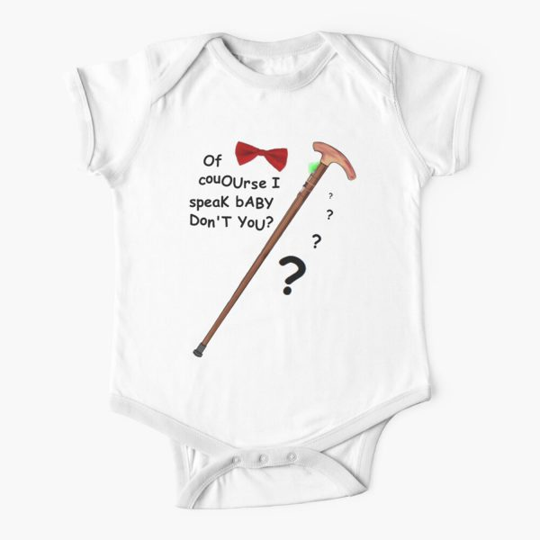 Of course I speak baby Baby Onesie
