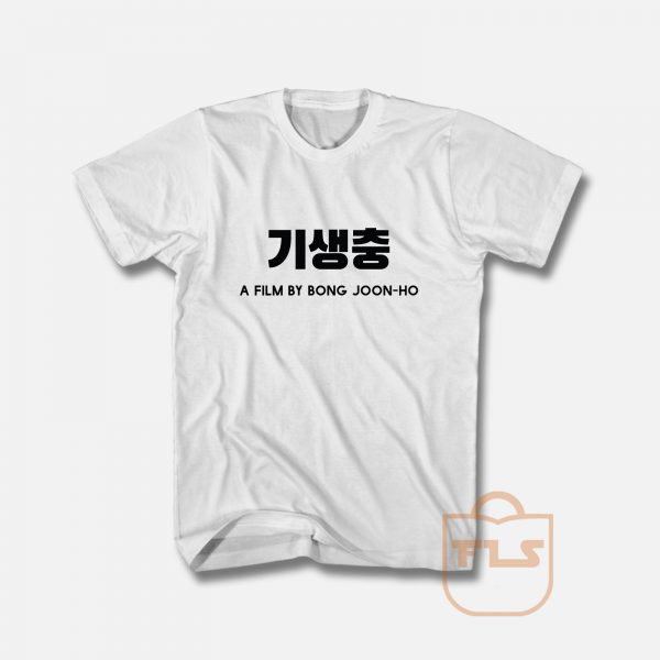 Parasite A Film By Bong Joon ho T Shirt