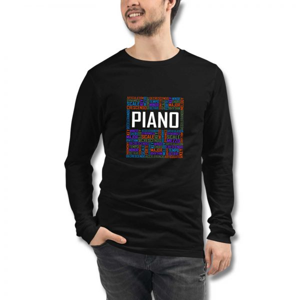 Piano Kids Long Sleeve