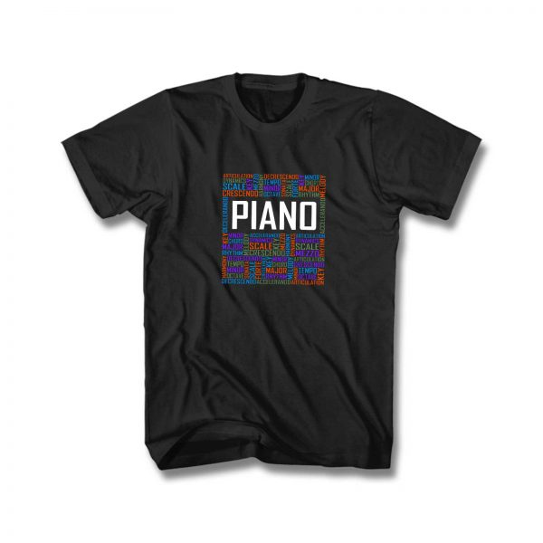 Piano Kids T Shirt