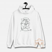 Picasso Cubic Sketch Hoodie