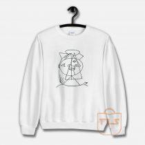 Picasso Cubic Sketch Sweatshirt