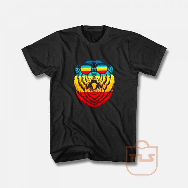 Retro bear T Shirt