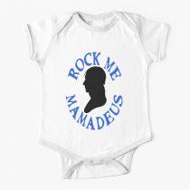 Rock Me Mamadeus Baby Onesie