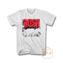 Rush Band Logo T Shirt
