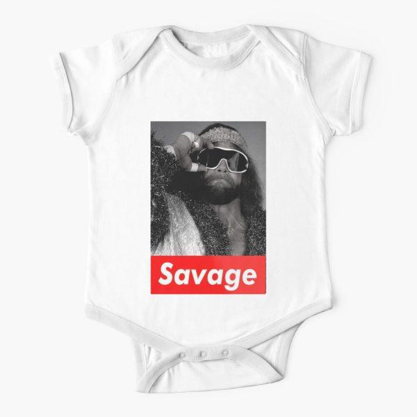 Savage Man Macho Baby Onesie