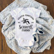 Schrute Farms Baby Onesie