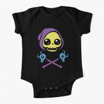 Skeletaww and Crossbones Baby Onesie