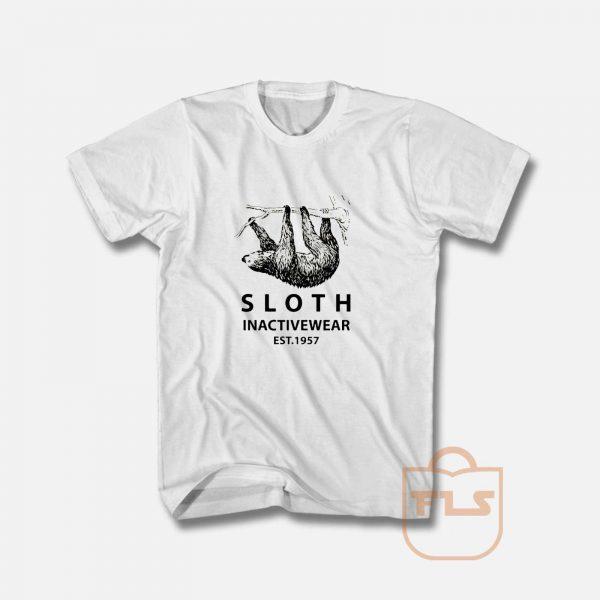 Sloth Inactivewear Ringer T shirt