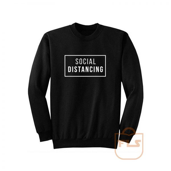 Social Distancing Box Sweatshirt