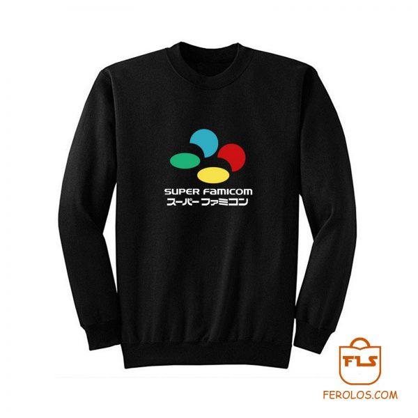 Super Famicom Tribute Japanese Sweatshirt