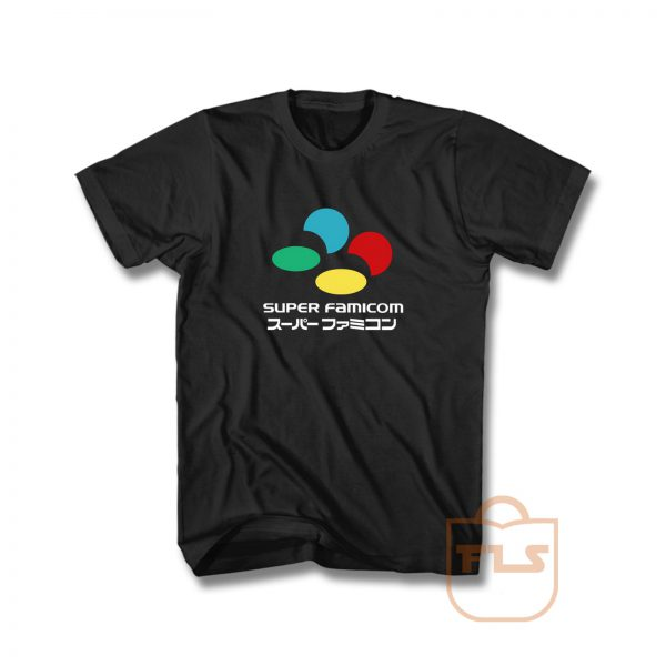 Super Famicom Tribute Japanese T Shirt