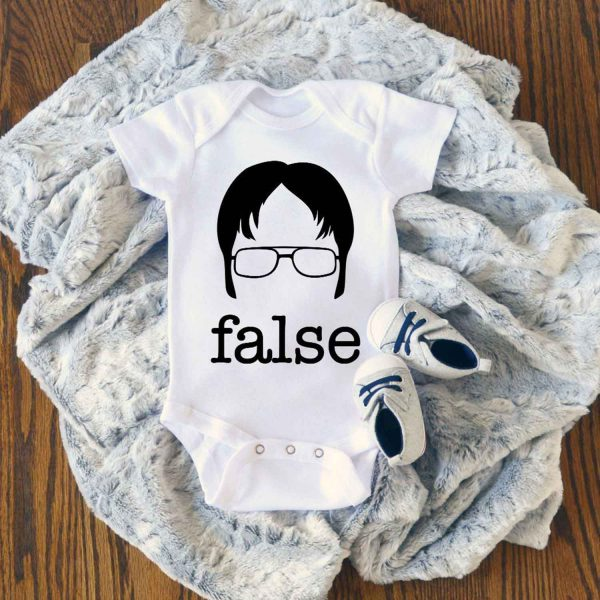 The Office Dwight Schrute Baby Onesie