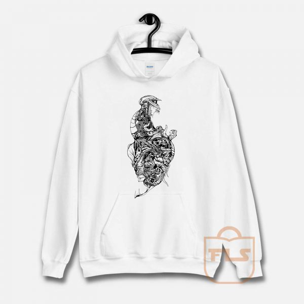 The TEETH Skeleton Hoodie