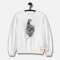The TEETH Skeleton Sweatshirt