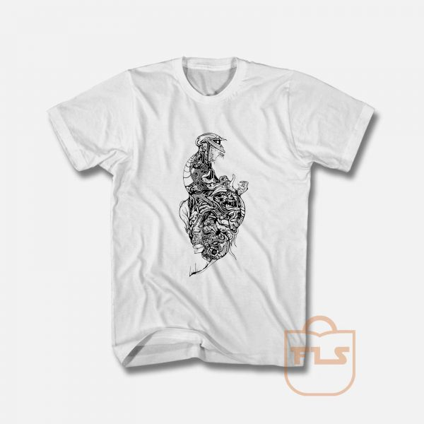 The TEETH Skeleton T Shirt