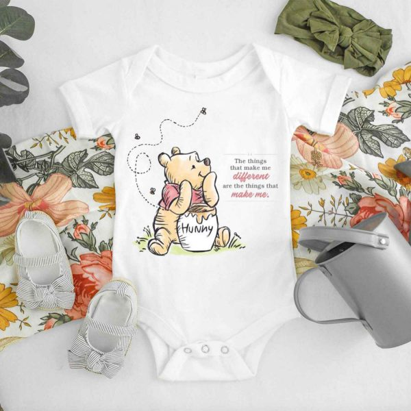 The Things That Make Me Different Baby Onesie