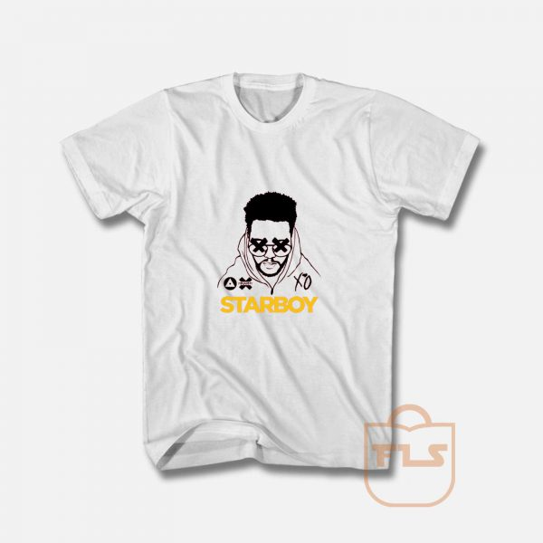 The Weeknd T Shirt Starboy