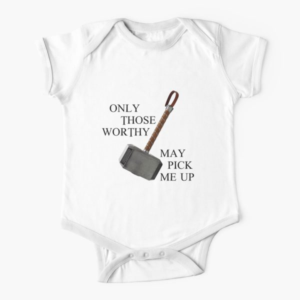 Thor Only Thos Worthy Baby Onesie
