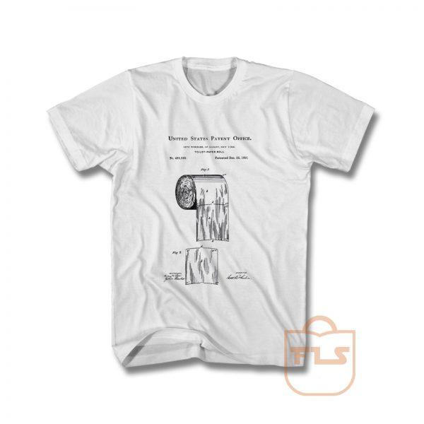 Toilet Paper Patent T Shirt