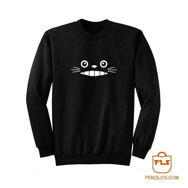 Totoro Grin Anime Sweatshirt