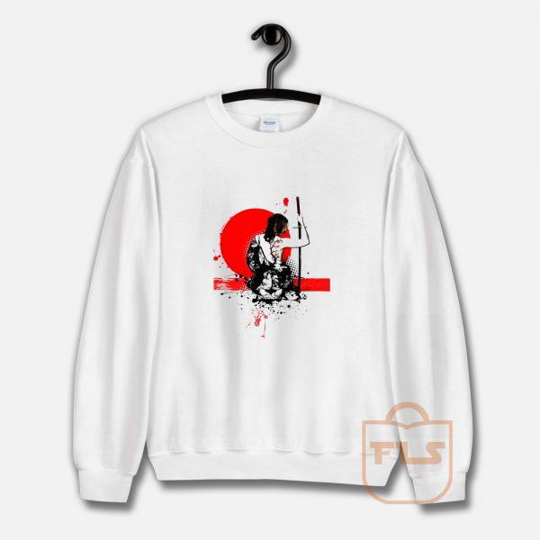 Trash Polka Female Samurai Sweatshirt