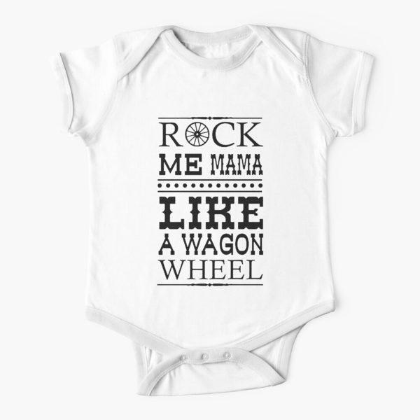 Wagon Wheel Funny Baby Onesie