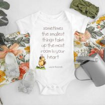 Winnie The Pooh Quotes Baby Onesie