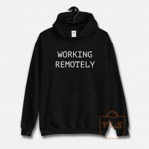 Working Remotely Classic Hoodie