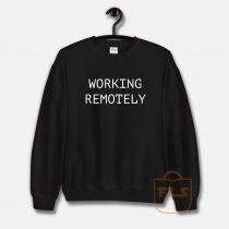 Working Remotely Classic Sweatshirt