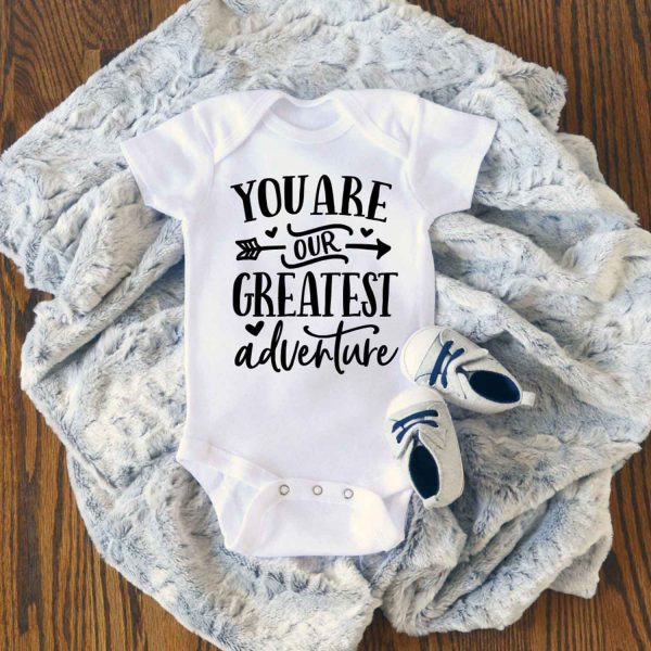 You Are Our Greatest Adventure Baby Onesie