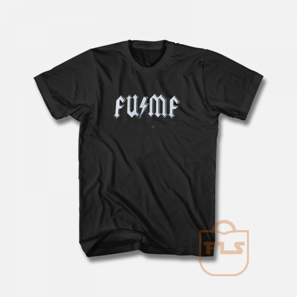 AcDc Parody x FUMF T Shirt