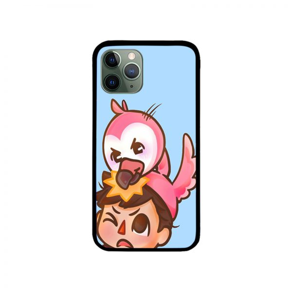 AlbertsStuff Flamingo iPhone Case