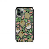 Baby Yoda Yin Yang iPhone Case
