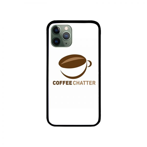 Coffe Chatter iPhone Case
