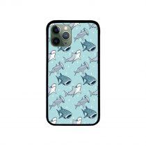 Cute Shark Pattern iPhone Case