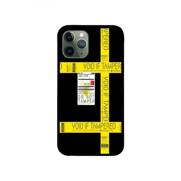 Death Stranding Void if Tampered Tape Cargo Sticker iPhone Case