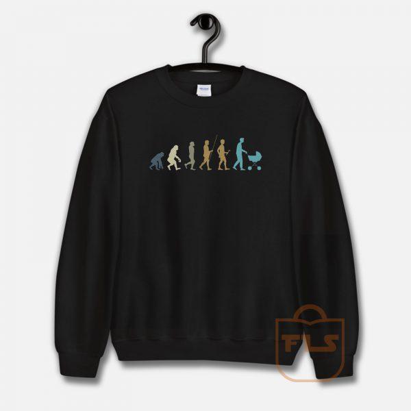 Funny Dad Evolution Sweatshirt