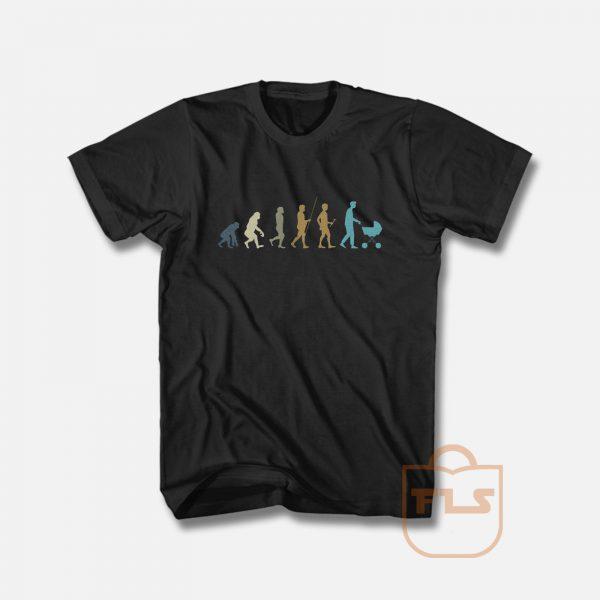 Funny Dad Evolution T Shirt